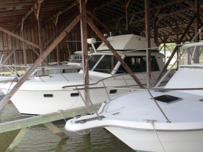 boats in slips
