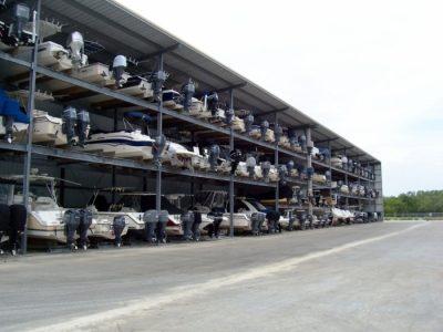 exterior boat storage