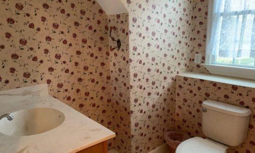 interior view of a bathroom
