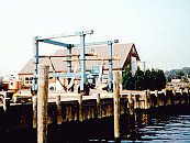 exterior view of marina boat house