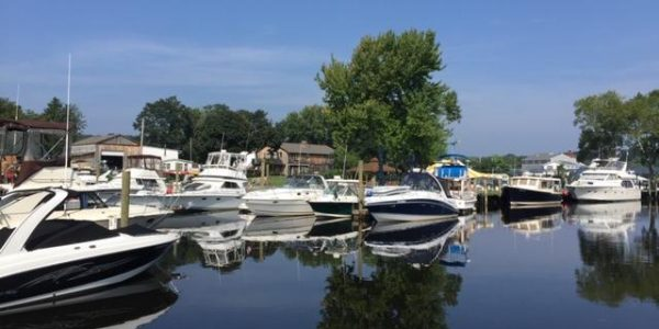 Yachts on Connecticut River