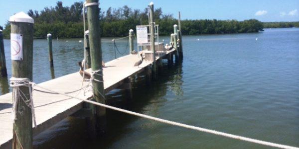 Dock at Fort Myers marina