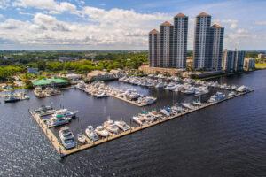 Legacy Harbor Marina aerial